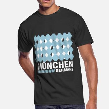 Free State Of Bavaria Munich, Bavaria, Germany - Men's 50/50 T-Shirt