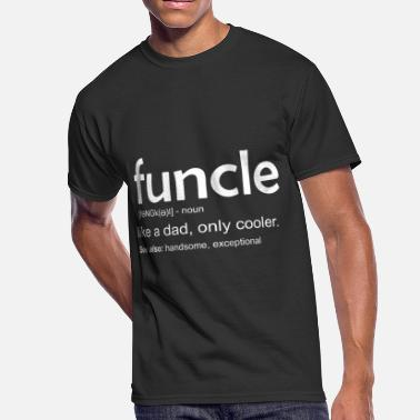 c68c7758 Funcle Funny Gift For Uncle Funcle Definition - Men's 50/50. Men's  50/50 T-Shirt. Funny Gift For Uncle Funcle Definition