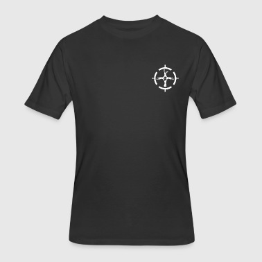 Center of Gravity - Men's 50/50 T-Shirt