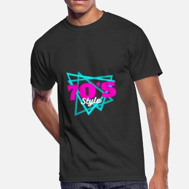 70s Style 70´s Style - Men's 50/50 T-Shirt