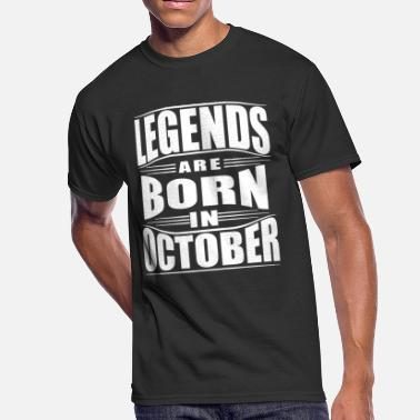 October Zodiac OCTOBER - Men's 50/50 T-Shirt