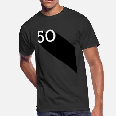 Vintage Dude 50 50th Birthday Gift Fifty Wedding Anniversairy - Men's 50/50 T-Shirt