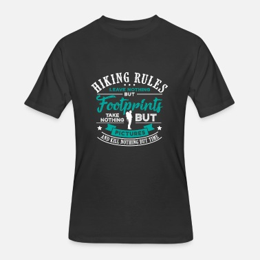 Hiking Rules HIKING RULES - HIKING SHIRT | BACKPACKER | GIFT - Men's 50/50 T-Shirt