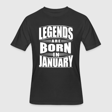 JANUARY - Men's 50/50 T-Shirt