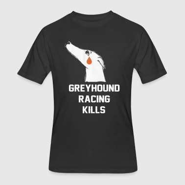 GREYHOUND RACING KILLS - Men's 50/50 T-Shirt