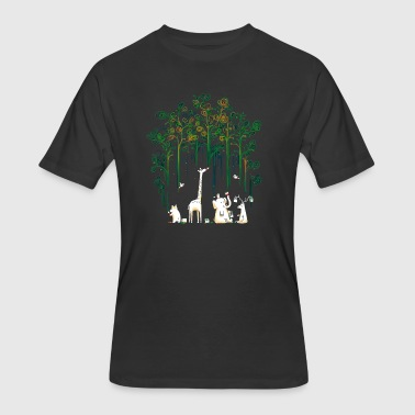 Meanwhile In The Woods - Men's 50/50 T-Shirt