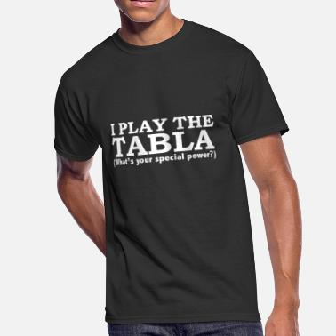 TABLA Player What's your special power - Men's 50/50 T-Shirt