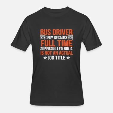My Bus Bus driver is my job - Men's 50/50 T-Shirt