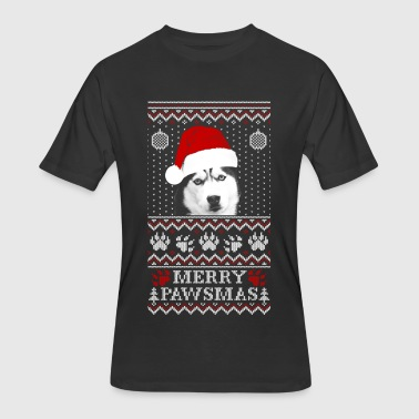 Husky - Husky - husky lover marry christmas swea - Men's 50/50 T-Shirt