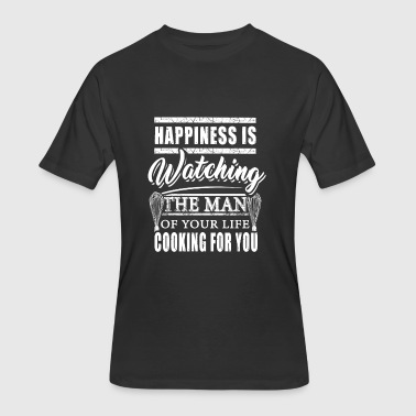 Baker Man Baker - happiness is watching the man of your li - Men's 50/50 T-Shirt