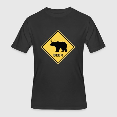 Bear Bear Deer Beer - Men's 50/50 T-Shirt