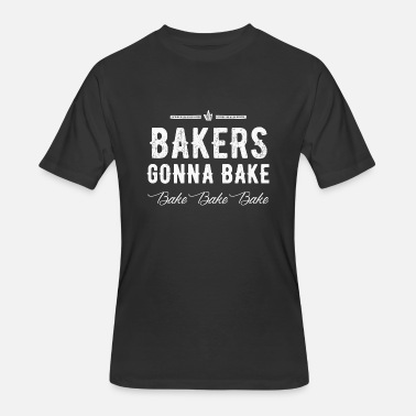 Anita Baker Baker - Bakers Gonna Bake - Men's 50/50 T-Shirt