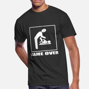 Over Game Over - Men's 50/50 T-Shirt