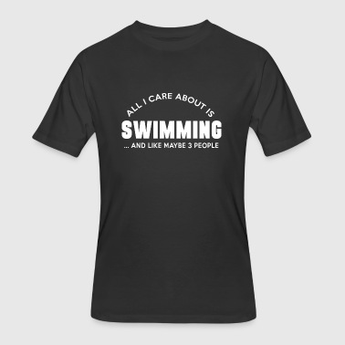 Finding Dory Swimming - all i care about is swimming and like - Men's 50/50 T-Shirt