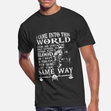 Scandinavia Viking Viking - Viking T - I CAME INTO THE WORLD - Men's 50/50 T-Shirt
