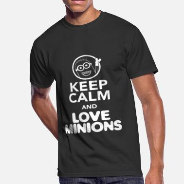 Love Minion LOVE MINION - KEEP CALM AND LOVE MINIONS - Men's 50/50 T-Shirt