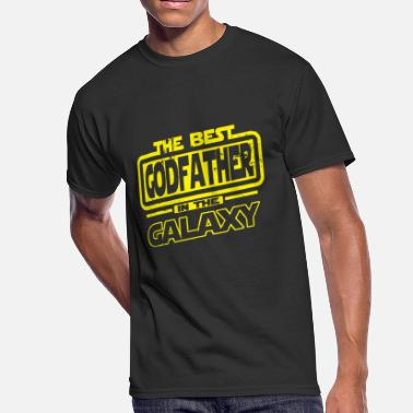 Best Godfather Godfather - The Best Godfather In The Galaxy - Men's 50/50 T-Shirt