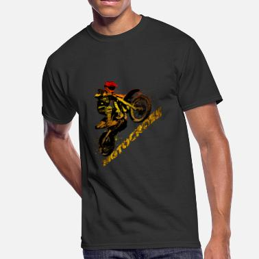 Motocross - Men's 50/50 T-Shirt