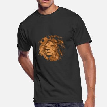Lions Draw Creative drawing lion - Men's 50/50 T-Shirt