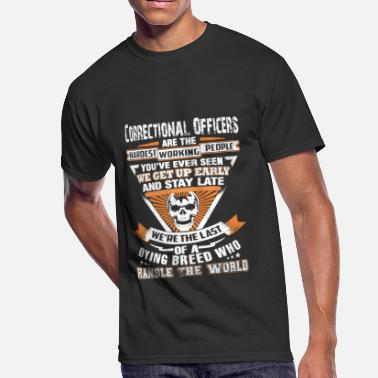 Officer Correctional officers - The last of a dying bree - Men's 50/50 T-Shirt