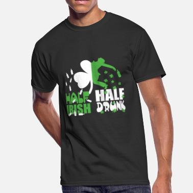 Half Irish Irish - Half irish, half drunk - Men's 50/50 T-Shirt