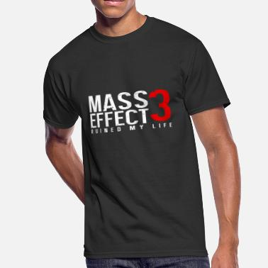 Mass Effect Garrus vakarian - Mass Effect 3 Ruined My Life [ - Men's 50/50 T-Shirt