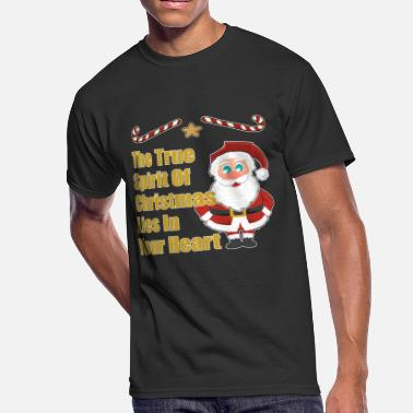 Candy Cane Candy Cane Christmas Gift Advent Nicholas Santa - Men's 50/50 T-Shirt