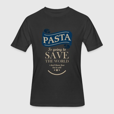 Pasta Save The World - Men's 50/50 T-Shirt