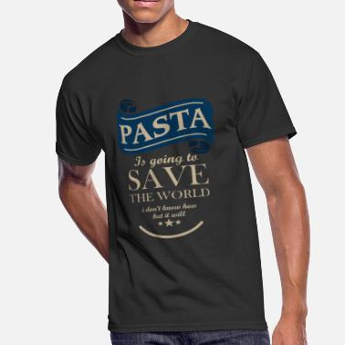 Pasta Pasta Save The World - Men's 50/50 T-Shirt
