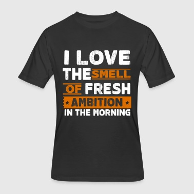 Morning ambition motivation gift idea sports power - Men's 50/50 T-Shirt