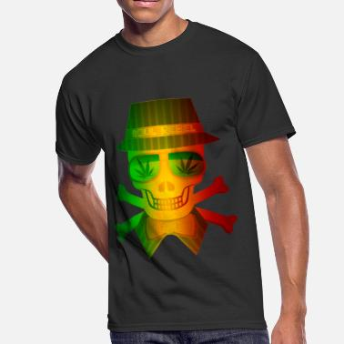 Rasta Man Rasta Man Rebel - Men's 50/50 T-Shirt