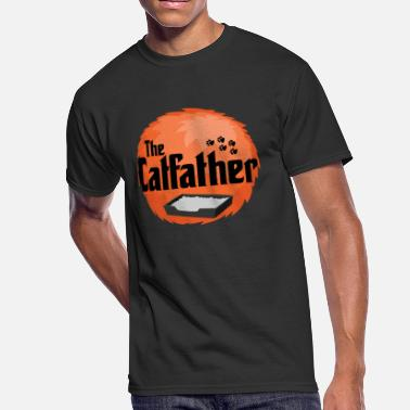 The Catfather The Catfather - Cat Father Pussycat Meow - Men's 50/50 T-Shirt
