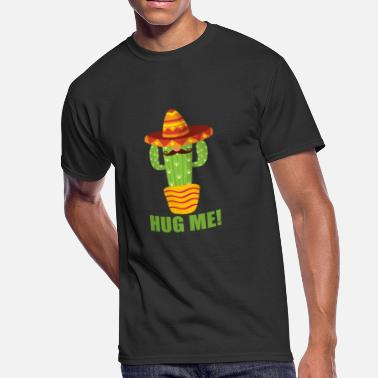 Cactus Hug Hug the cactus - Men's 50/50 T-Shirt