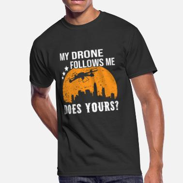 Dji Phantom My Drone Follows Me - Men's 50/50 T-Shirt
