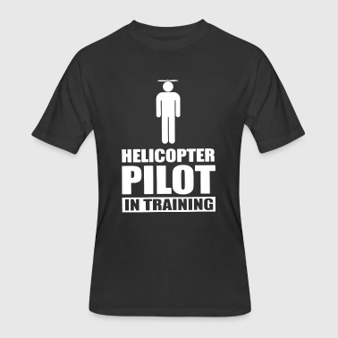 Helicopter Pilot In Training - Men's 50/50 T-Shirt