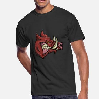 Boar Raging Boar - Men's 50/50 T-Shirt