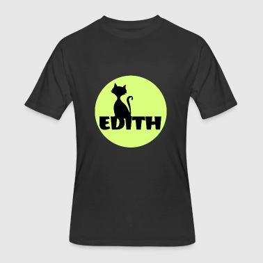 First Name Initial Edith first name - Men's 50/50 T-Shirt