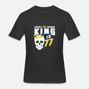77 the king is 77 - Men's 50/50 T-Shirt