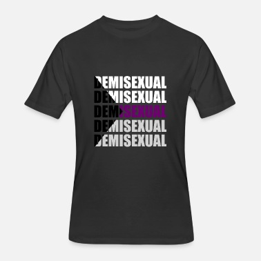 Limited Addition limited addition demisexual typography T shirt - Men's 50/50 T-Shirt
