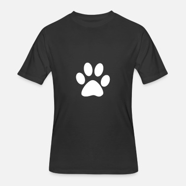 Paws Cats dogs paw cats paw - Men's 50/50 T-Shirt