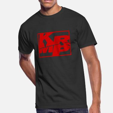 Krump KRMP Red Squished Boxed - Men's 50/50 T-Shirt