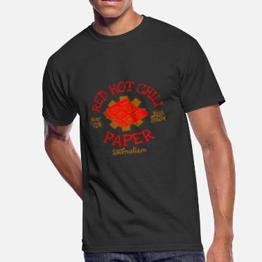 Journalism River Park High School Journalism Red Hot Chili Pa - Men's 50/50 T-Shirt