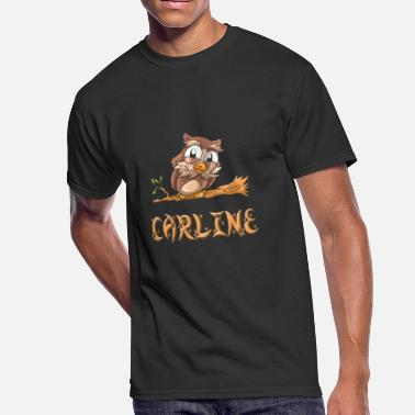 Carline Carline Owl - Men's 50/50 T-Shirt
