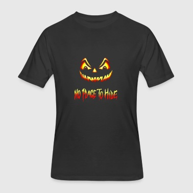 Hiding Place No Place To Hide Halloween Horror Pumpkin - Men's 50/50 T-Shirt