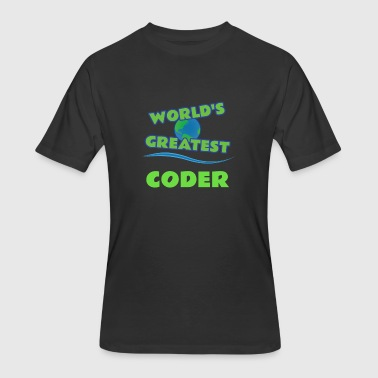 Coders CODER - Men's 50/50 T-Shirt