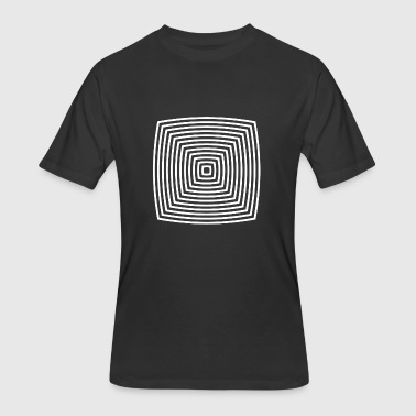 optical illusion - Men's 50/50 T-Shirt
