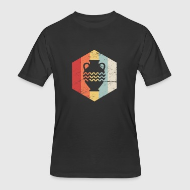 Iconic 70s Retro 70s Pottery Icon - Men's 50/50 T-Shirt