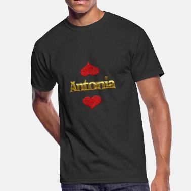 Antonia Antonia - Men's 50/50 T-Shirt
