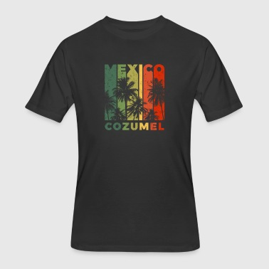 Cozumel Mexico Retro Cozumel Mexico Beach Vacation Souvenir - Men's 50/50 T-Shirt
