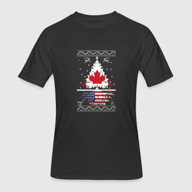 Canadian With American Root Canadian with American root - Men's 50/50 T-Shirt